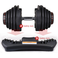 Load image into Gallery viewer, Adjustable Dumbbells 90lbs (40kg) - Pair - YULift