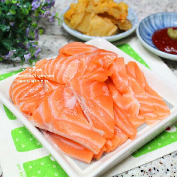 Fresh Salmon Sashimi 200g 연어 횟감용