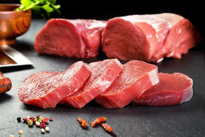 Chilled Tenderloin (grain fed) Steaks 프리임 텐더로인 1kg