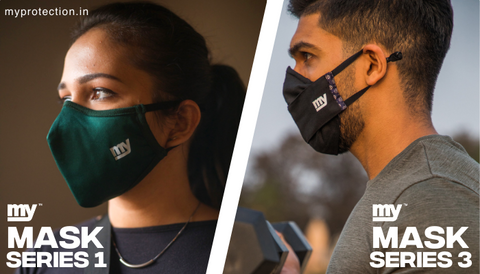 Activated Carbon and Copper Antiviral mask
