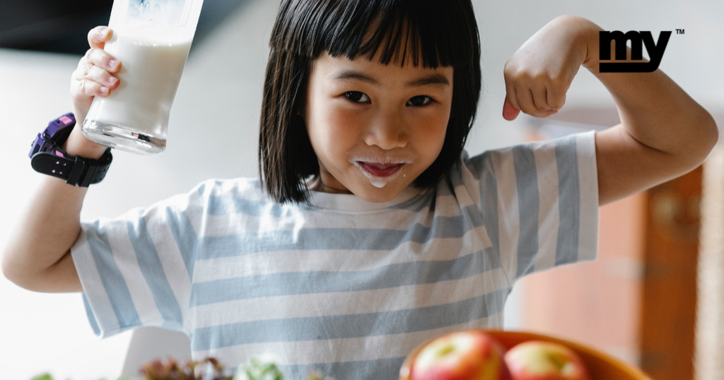 Does your kid get healthy food and care?