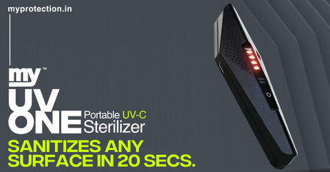 MY UV One Sterilize any surface in 20 sec