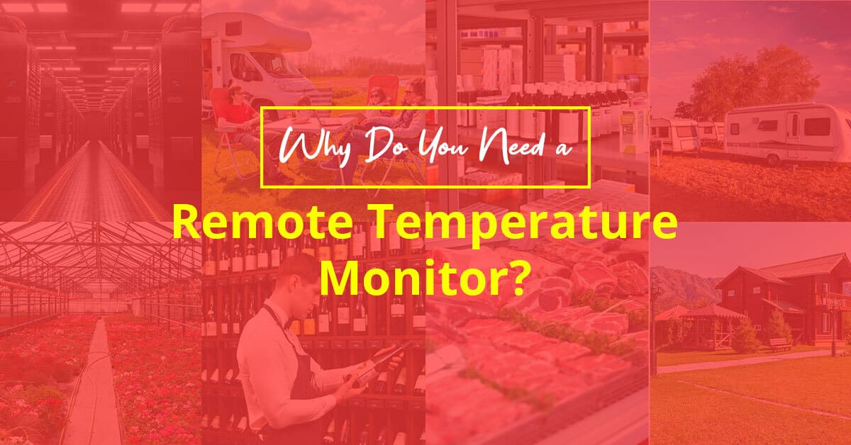 Why Do You Need a Remote Temperature Monitor