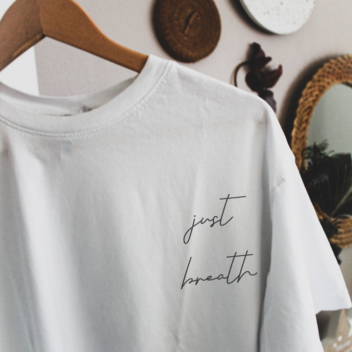 JUST BREATH | Organisches T-Shirt
