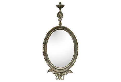 1930s Parcel-Gilt Louis XVI Mirror