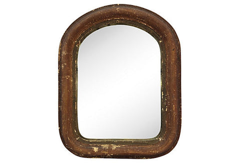 19th-Century Italian Painted Mirror - FREE SHIPPING