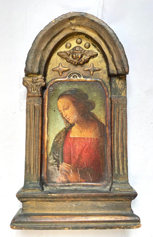 Florentine Hand-decorated Religious Edicola