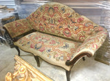 "18th-C Needlepoint Tapestry Italian ""Summer Sofa"""