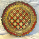 Florentine Parcel-gilt Filigree Tray - FREE SHIPPING