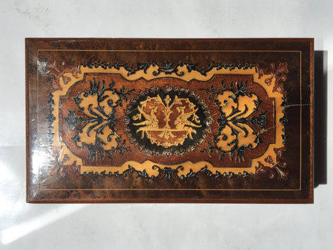 1940s Sorrento Inlaid Wooden Box
