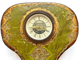 Florentine Painted & Parcel-gilt Clock