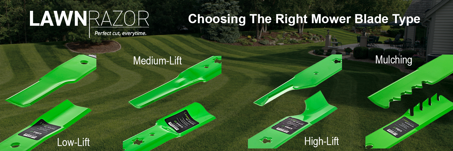 Choosing The Right Lawn Mower Blade Type