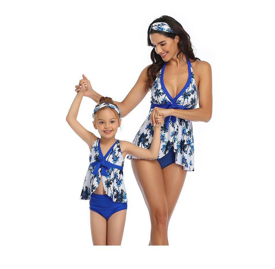 Parent-child Beach Swimwear for Woman Girl