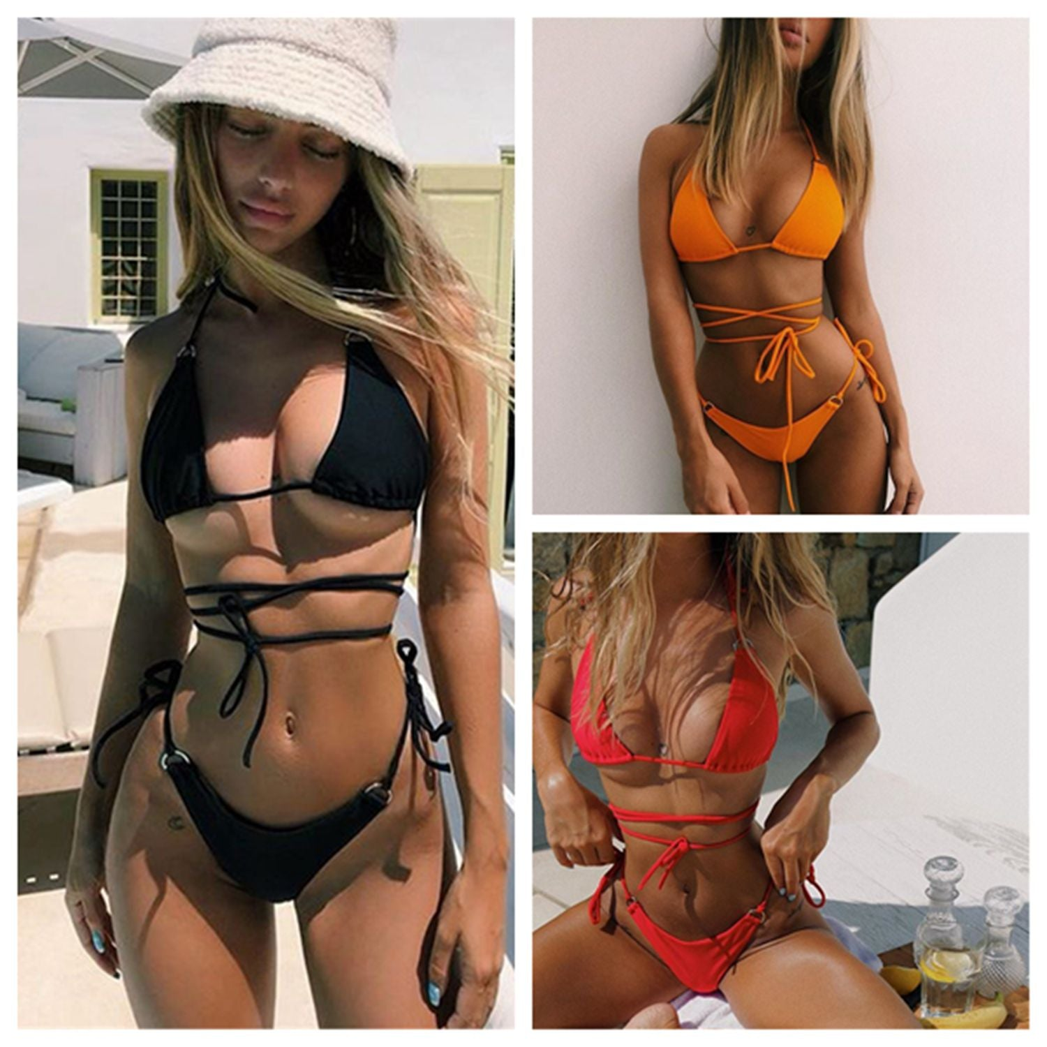 Sexy Split Bikini for Women