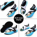 VIFUUR Kids Water Shoes Coconut Tree Girls Boys