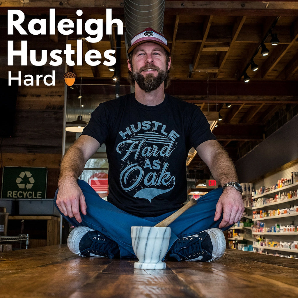 RALEIGH HUSTLES HARD - THE PHARMACY CAFE