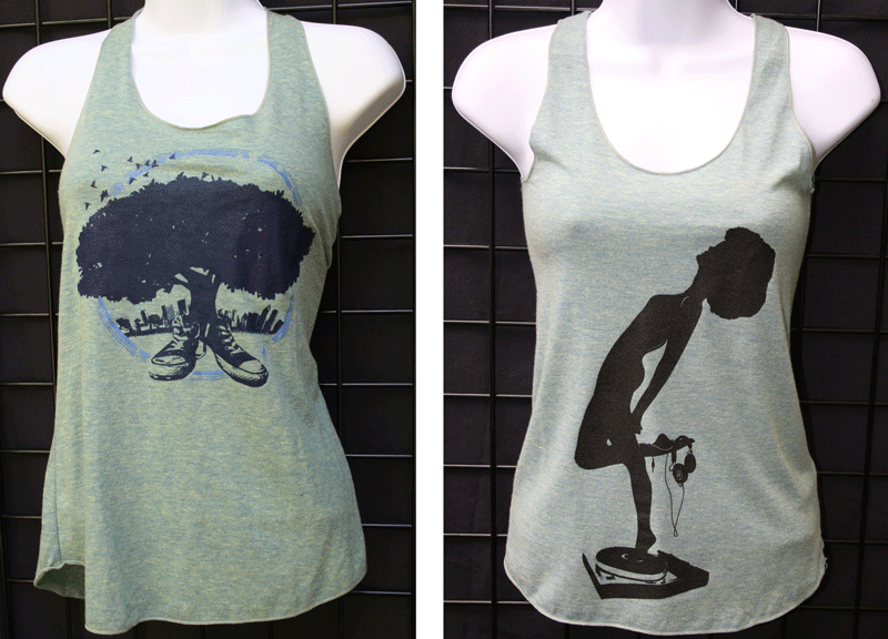 Porch Fly Ladies Tank Tops