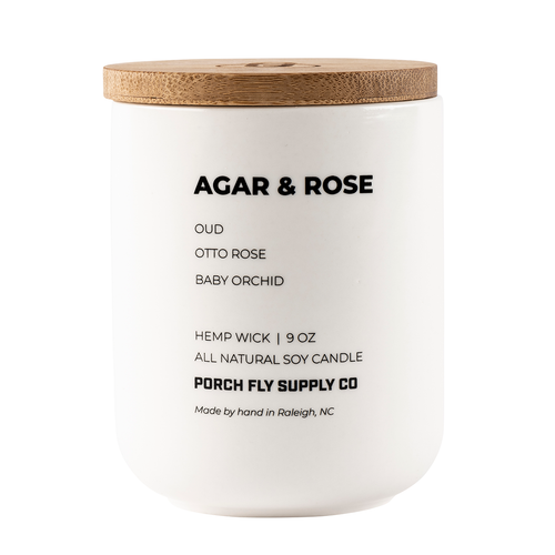 Agar & Rose Candle