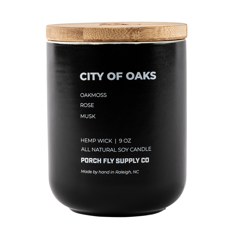City Of Oaks Candle