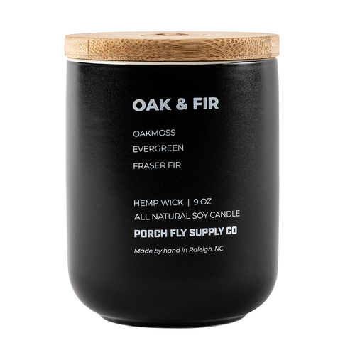 Oak & Fir Candle