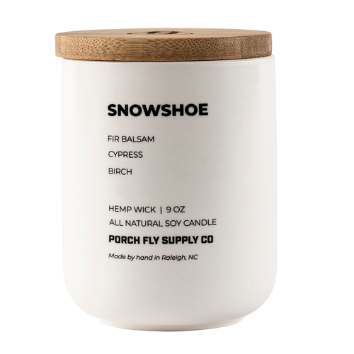 Snowshoe Candle