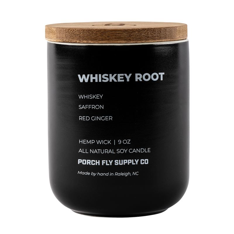 Whiskey Root Candle