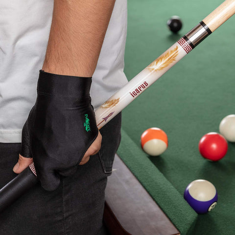 "PhoenixHit Pool Cue Stick Set - 58"" Long Billiard Cue Stick, 19 Ounces with Accessories Included for a Memorable Billiard Experience in One Kit"
