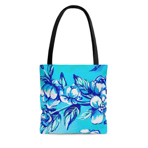 Hope Floral Tote Bag
