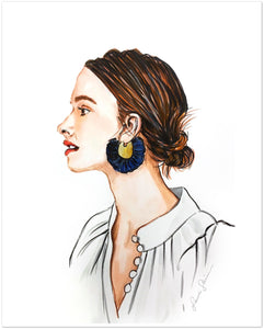 Statement Earring (Print)