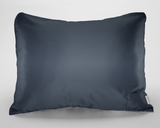 Dark Grey Satin Pillowcase for Women & Teens
