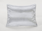 Light Grey Satin Pillowcase for Girls with Harriet Doll
