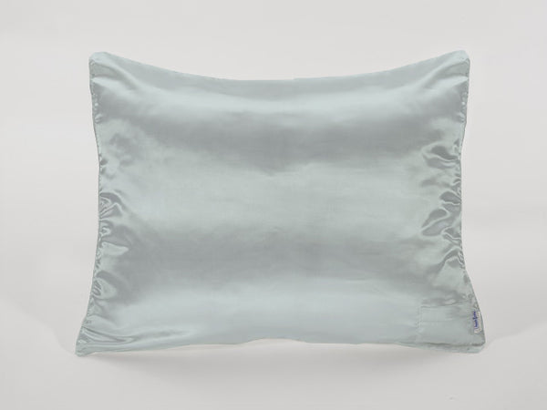 Seafoam Blue Satin Pillowcase for Kids