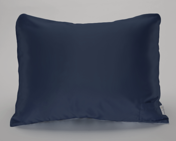 NEW! Navy Satin Pillowcase for Women & Teens