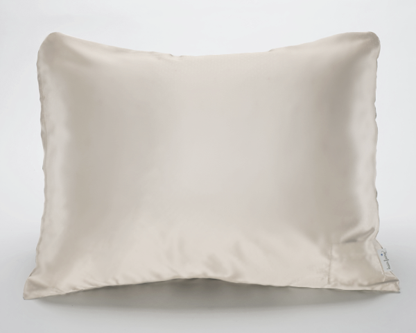 Cream Satin Pillowcase for Women & Teens