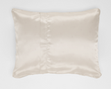 Cream Satin Pillowcase for Kids