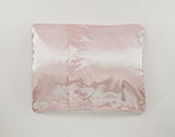 Back of Pink Satin Pillowcase for Girls