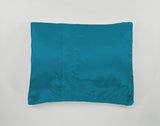 Peacock Teal Satin Pillowcase for Women & Teens