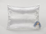 White Satin Pillowcase for Girls with Harriet Doll