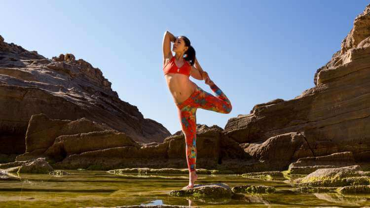 Build strength with power yoga
