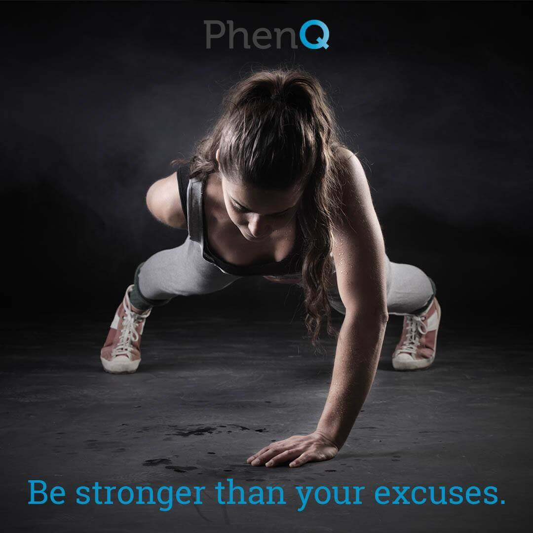 Weight loss quote - Be stronger than your excuses.