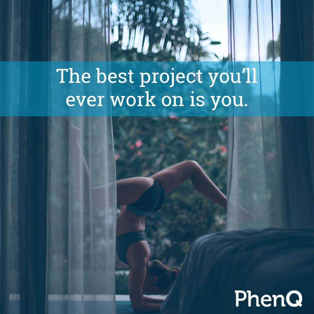 Weight loss quote - The best project you'll ever work on is you.