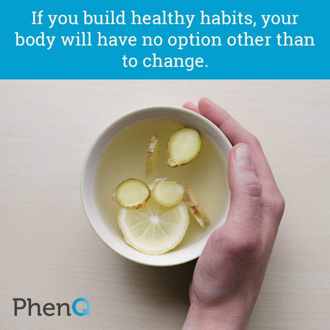 Weight loss tips - If you build healthy habits, your body will have no option other than to change.