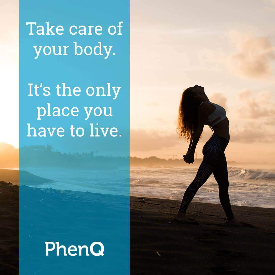 Weight loss tips - Take care of your body. It's the only place you have to live.