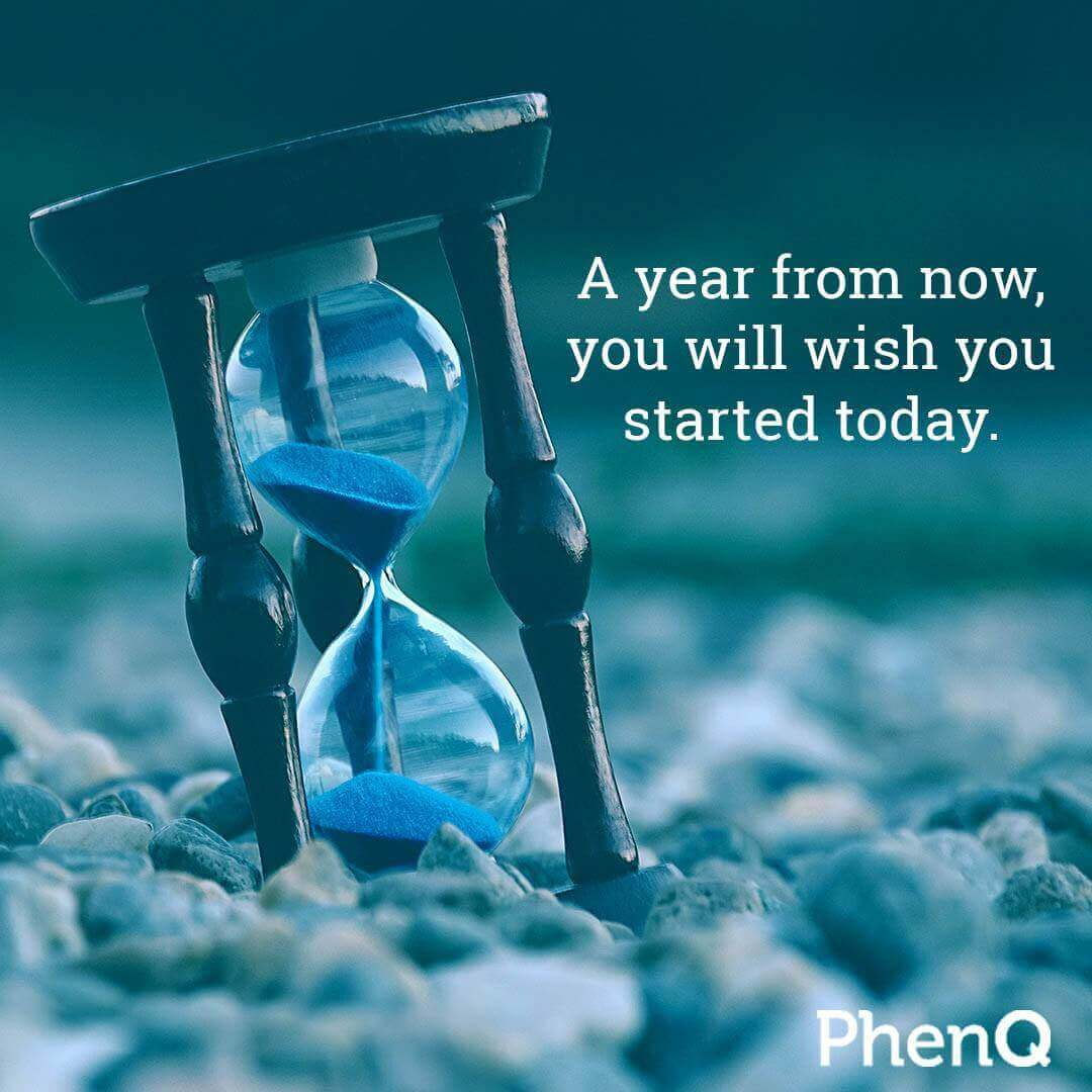 Weight loss quote - A year from now, you will wish you started today.