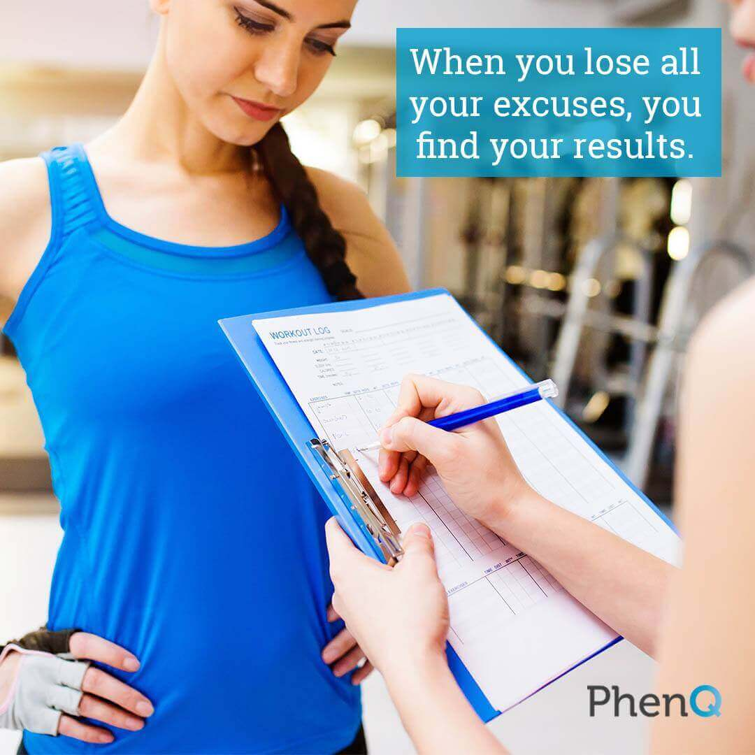 Weight loss quote - When you lose all your excuses, you find your results.