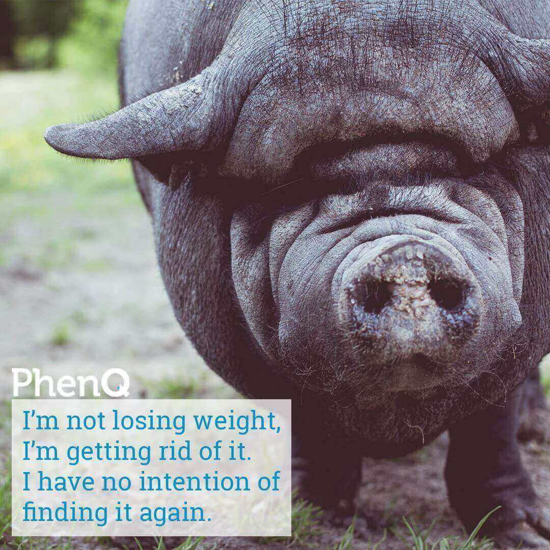 Weight loss tip - I'm not losing weight, I'm getting rid of it. I have no intention of finding it again.