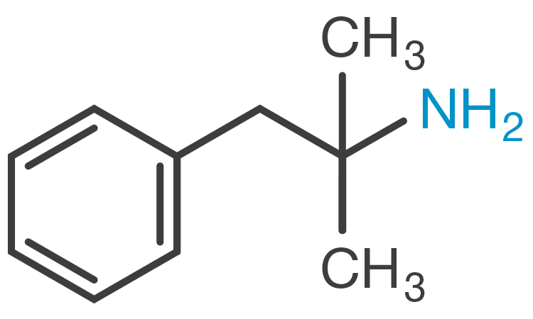 Phentermine chemical structure