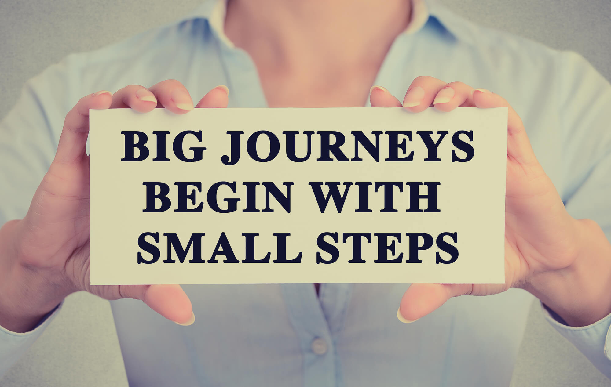 Big journey - small steps