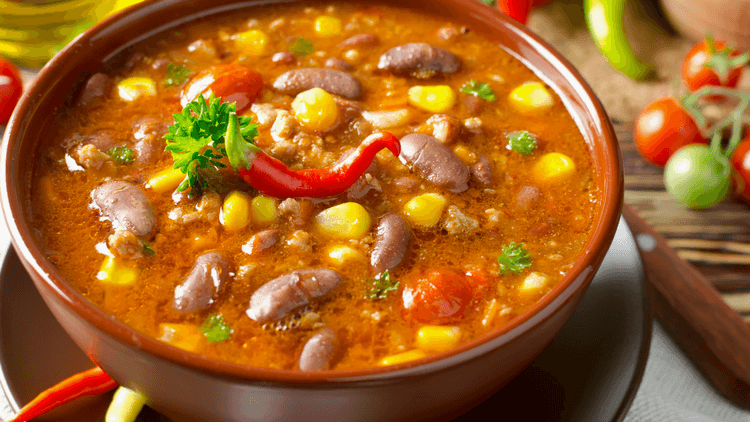 Picutre of spicy food which also helps with weight loss