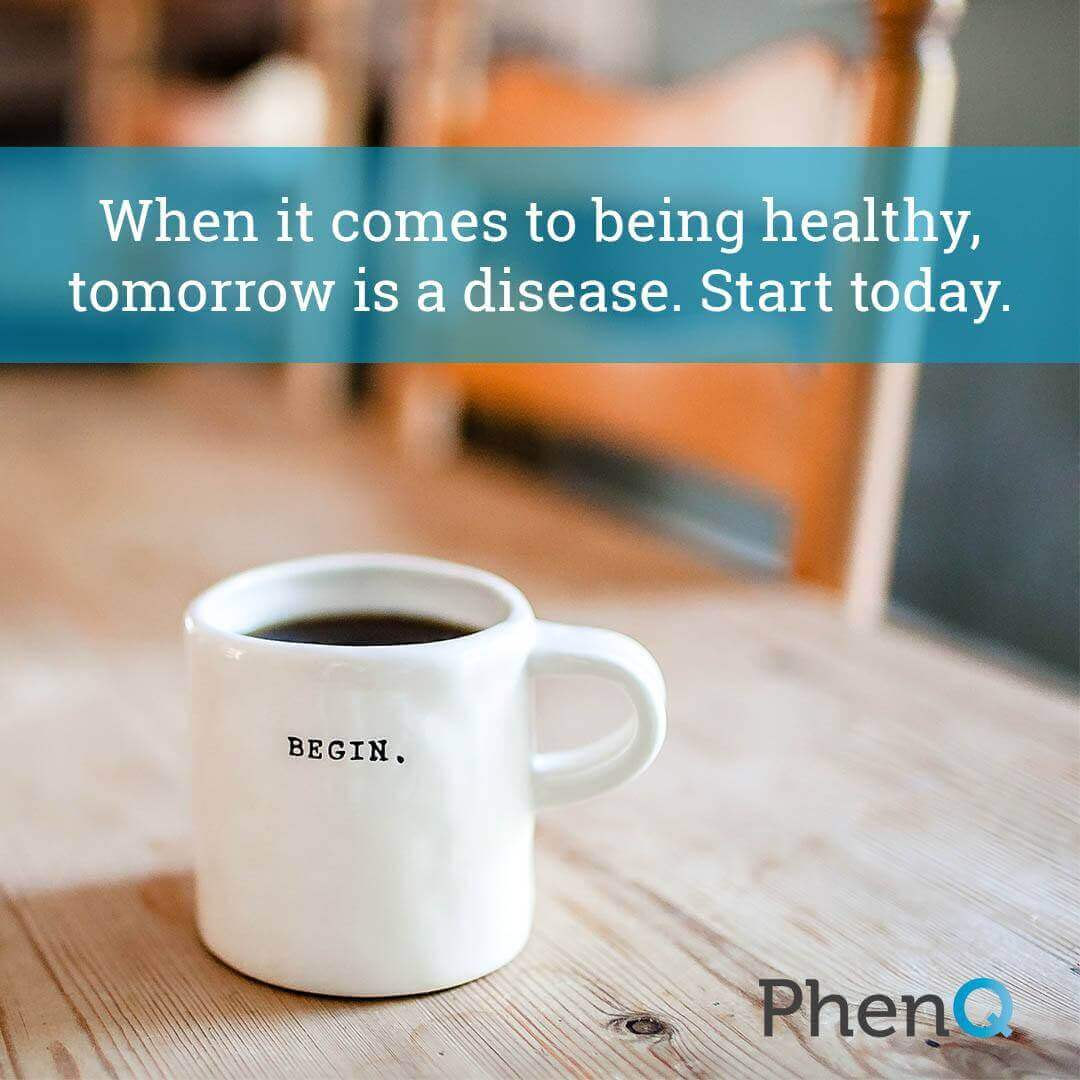 Weight loss tips - When it comes to being healthy, tomorrow is a disease. Start today.